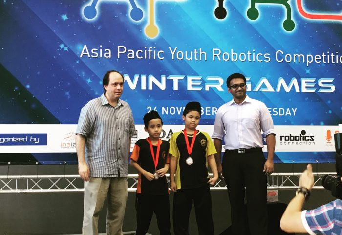 Asia-Pacific Youth Robotics Competition (Winter Games) 2015
